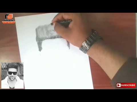 Guru Randhawa pencil art sketch | Guru Randhawa | Pencil sketch | art | sketch