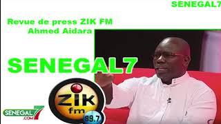 Revue de presse (Wolof) Zik-fm du 05 Août 2019 avec Ahmed Aidara