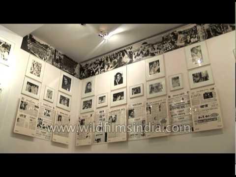 Indira Gandhi Memorial Museum: Displays the picture collection of Late. Smt. Indra gandhi