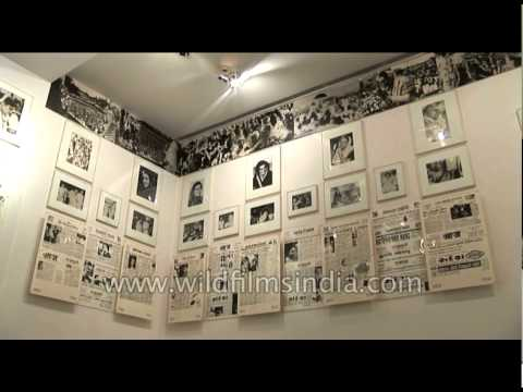 Indira Gandhi Memorial Museum: Displays the picture collection of Late. Smt. Indra gandhi