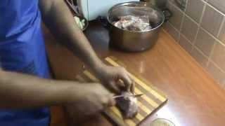 ВИДЕО УРОК: шашлык свинина + зира + яблочный уксус