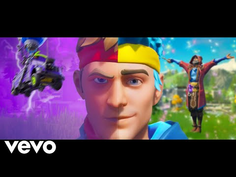 Ninja & Tfue - Freaky Friday Parody (Official Fortnite Music Video) Lil Dicky Ft. Chris Brown