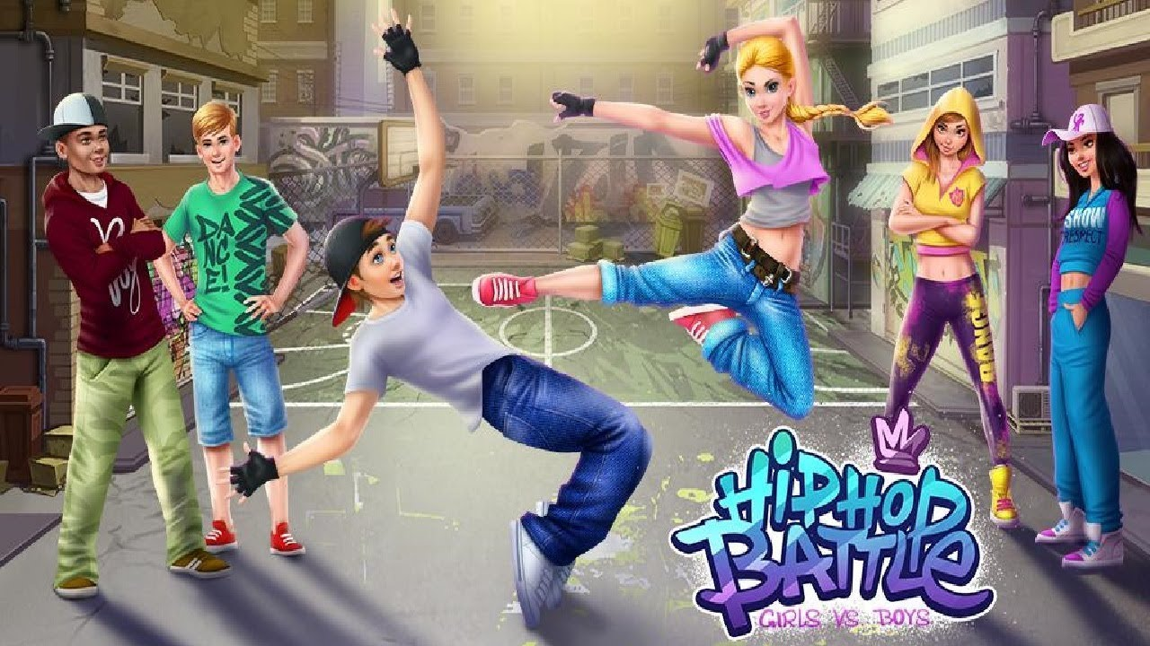 hip hop battle girls vs boys dance clash android gameplay coco