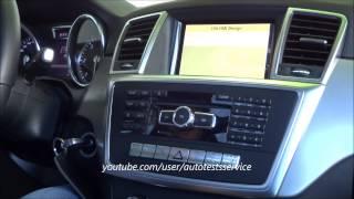 Mercedes Comand Online NTG 4.5 Geheimmenü Farbschema ändern