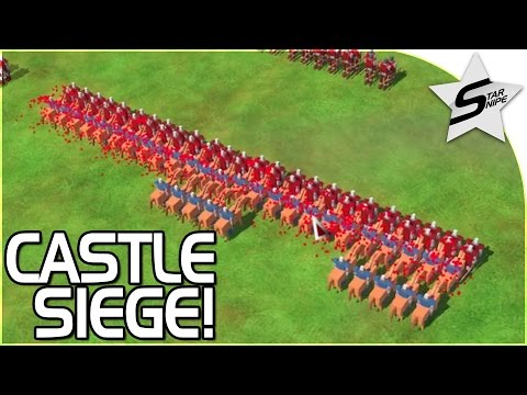 """""""TOTALLY ACCURATE BATTLE SIMULATOR W/ CASTLES?!?"""" - Kingdom (Castle Siege) Gameplay Part 1"""