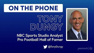 NBC Sports Tony Dungy on John Lynch Drew Pearson Making the Hall of Fame The Rich Eisen Show