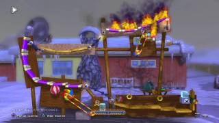 Flaming Way - Crazy Machines Elements (PS3) Puzzle Mode