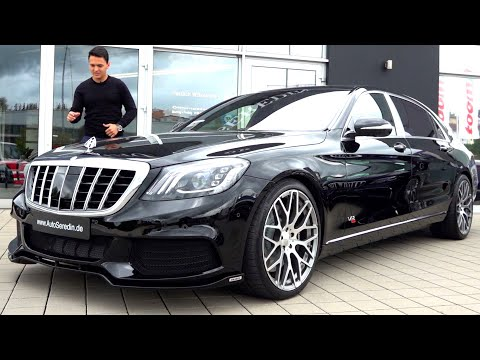 Mercedes Maybach S650 - V12 Brabus 900 Review BRUTAL Drive Sound Interior Exterior S Class