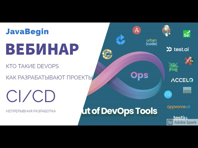 Вебинар: CI/CD, DevOps - как разрабатывают современные проекты (2021)