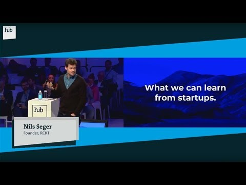 What companies can learn from startups | Nils Seger | hub.berlin 2017