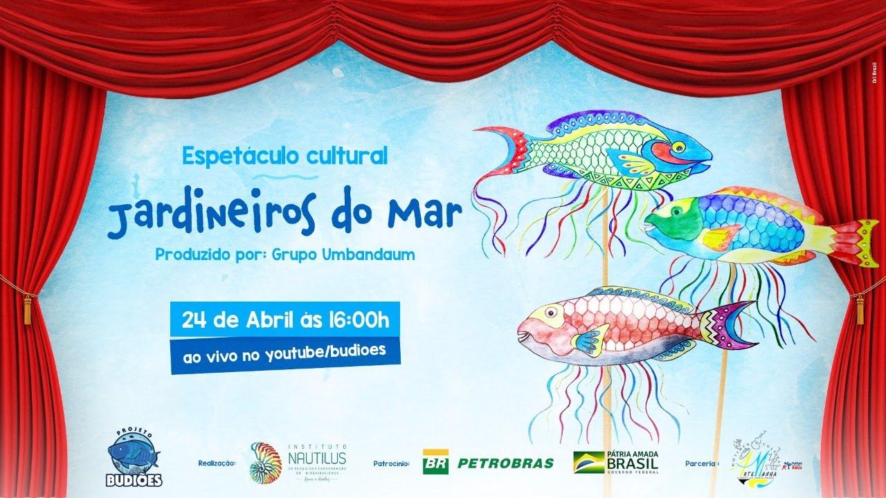 """Espetáculo """"Jardineiros do mar"""" estreia neste sábado, dia 24 de abril"""