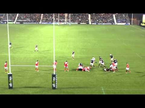 Tommy Seymour try against Tonga