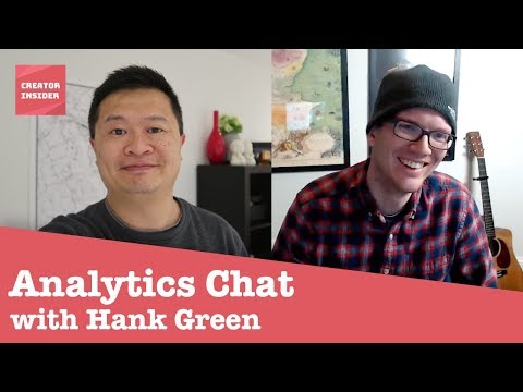 Hank Green interviews YouTube employee about YouTube Analytics and Creator Insider