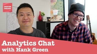 Hank Green interviews YouTube employee about YouTube Analytics and Creator Insider thumbnail