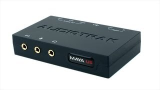 audiotrak maya u5 usb unboxing