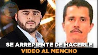Gerardo Ortiz se arrepiente de hacerle video a El Mencho líder del CJNG