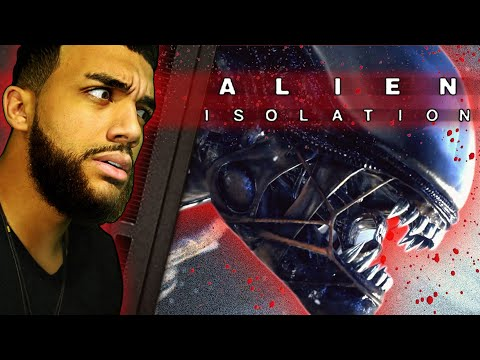 Try Not To Get SCARED Playing ALIEN ISOLATION (Was NOT Ready)  
