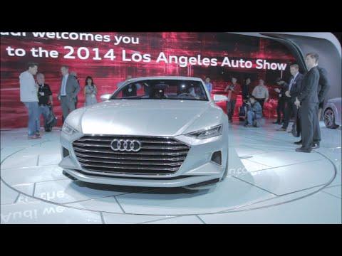 Audi Prologue Concept Car & A7 h-tron Hydrogen at LA Auto Show 2014