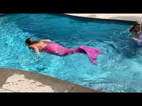 I Became A Mermaid For A Day!