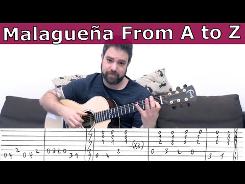 malagueña-lesson-from-a-to-z:-riffs,-scales-and-soloing-tips---guitar-tutorial-w/-tab