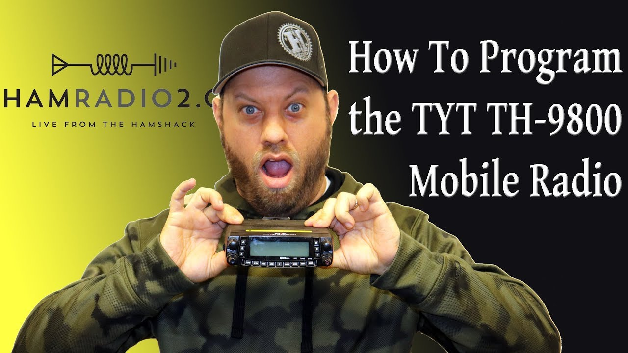 small resolution of  maxresdefault ham radio 2 0 episode 1 how to program the tyt th 9800 youtube tyt tyt mic wiring