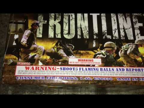 Frontline 500 Gram Cake by Fire Hawk Fireworks Review