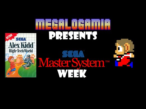 Living in the Future! - Alex Kidd in High-Tech World Gameplay