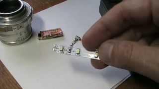 Как проверить SMD светодиод.
