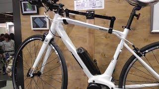 Electric assisted bicycle YAMAHA YPJ-C Pure White at Osaka Motorcyc...