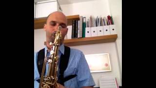 Strike Up The Band Sonny Stitt transcription