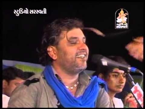 Kirtidan Gadhvi Gujarati Bhajan - Kiran Gadhvi Dayro 1.5 - Kanaiya Morliwada Re - Arnej - 2014