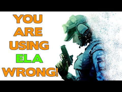 Rainbow Six Siege Tips || You are using Ela wrong!