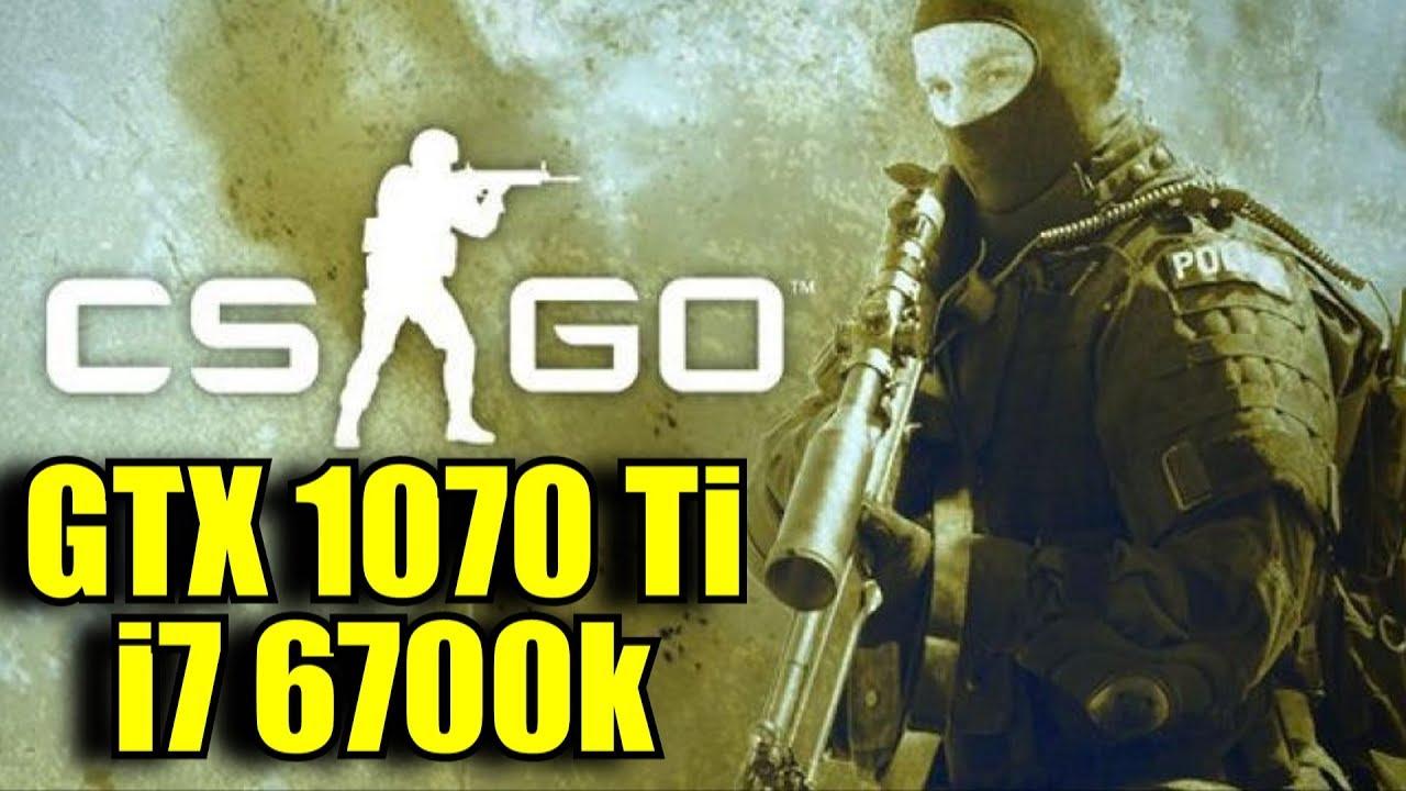 Counter Strike Global Offensive GTX 1070 Ti & i7 6700k | 768p - 1080p -  1440p - 2160p FPS TEST