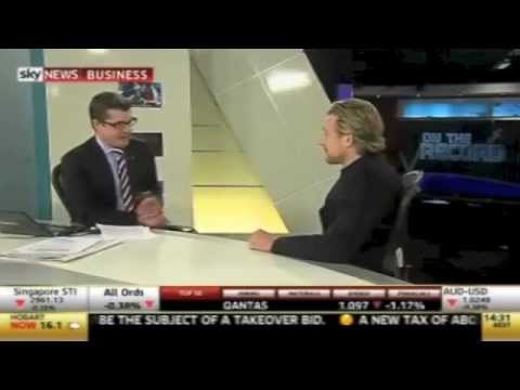 Jeremy Liddle, CEO of ENYA, talks Young Entrepreneurs & G20 YEA on Sky News Business July 2012