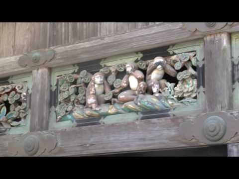 Nikko, Japan   World Heritage Tour   Nikko Toshogu Shrine #2   13 May '16