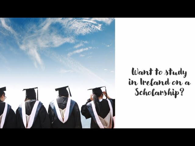 Getting a scholarship