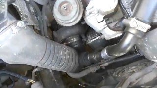 Проблемы с турбиной, ремонт VW Passat B5 1 9TDI 85KW, во дворе.