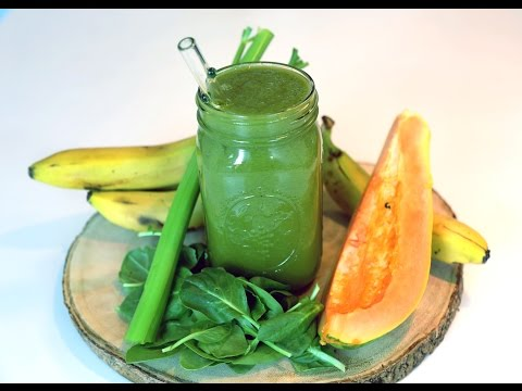 Colon Cleansing, Fat Burning And Weight Loss Smoothie!