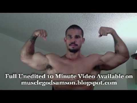Big muscle men videos