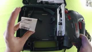 Лобзик BOSCH PST 650 (распаковка и проверка работы) - взгляд потребителя