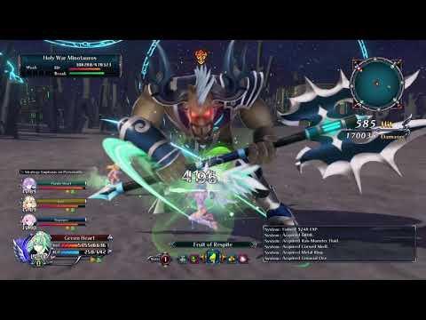 Cyberdimension Neptunia: 4 Goddesses Online Let's play 38 |