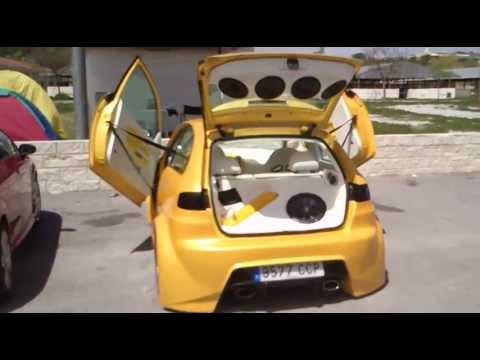 2 Concentracion Tuning De Baza 2013 Ibiza Amarillo Youtube