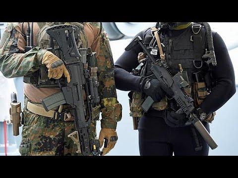 Third arrest in German army attack probe