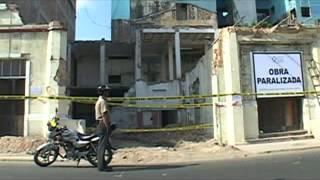 Destrucción Ex Palacio Municipal de Maynas