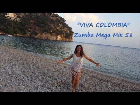 """""""Viva Colombia"""" (Mega Mix 58) - Zumba Fitness Choreography"""