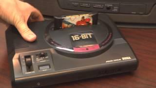 Classic Game Room - SEGA MEGA DRIVE console review