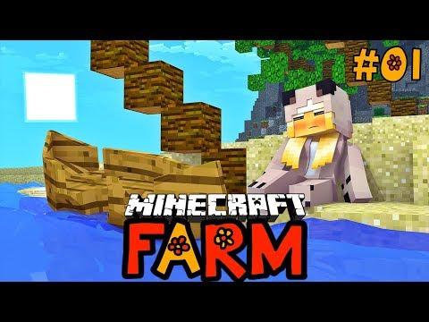 WIR STRANDEN IN EINER NEUEN WELT! ✿ Minecraft FARM #01 [Deutsch/HD]