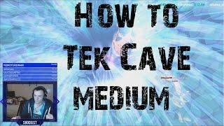 Ark Official PvP | How to Medium Tek Cave Ark | Spartans