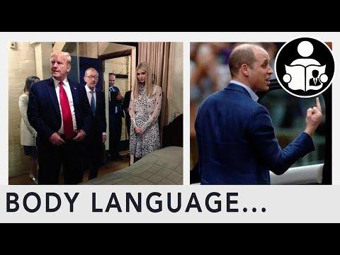 Body Language: Pictures of Trump, Ivanka & Prince William
