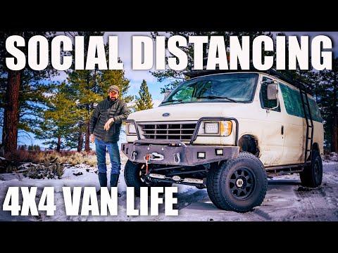 Social Distancing in a 4x4 Van
